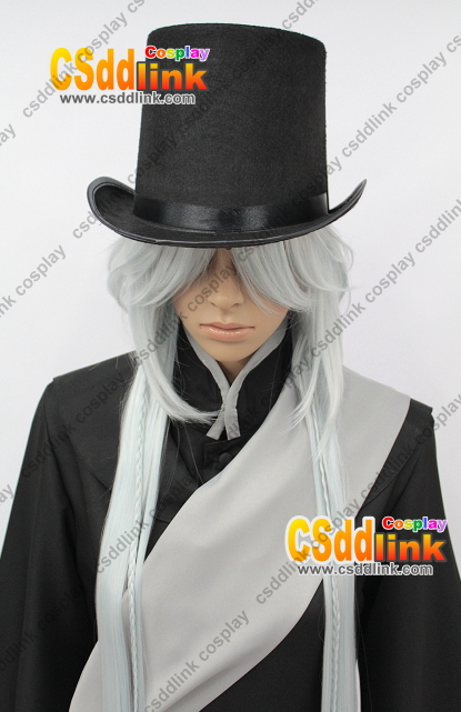 Black Butler Kuroshitsuji Undertaker Cosplay Wig 125Cm CSddlink