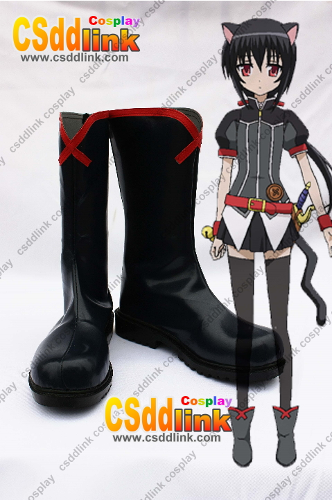 Dog Days Noir Vinocacao Cosplay Shoes Boots
