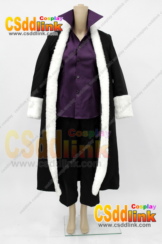 Fairy Tail Laxus Dreyar cosplay costume - CSddlink cosplay