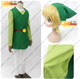 The Legend of Zelda Four Swords Cosplay Group Costume no wig