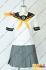 Persona 4 Chie Satonaka Cosplay Costume school uniform