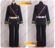 Seraph of the End Yoichi Saotome cosplay costume with cape