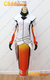 Overwatch Mercy Cosplay Costume white & orange