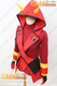 Pokemon Team Magma admin Courtney Cosplay Costume