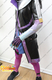 Overwatch Sombra's Cosplay Costume