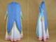 Voltron Legendary Defender Allura Girls Party Dress Set Cosplay