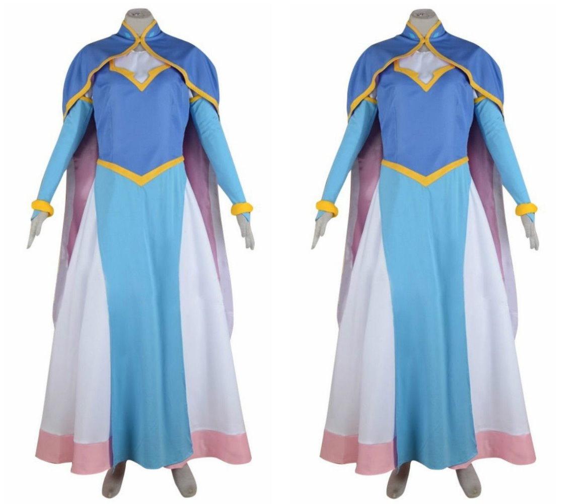 Voltron Legendary Defender Allura Girls Party Dress Set Cosplay ...